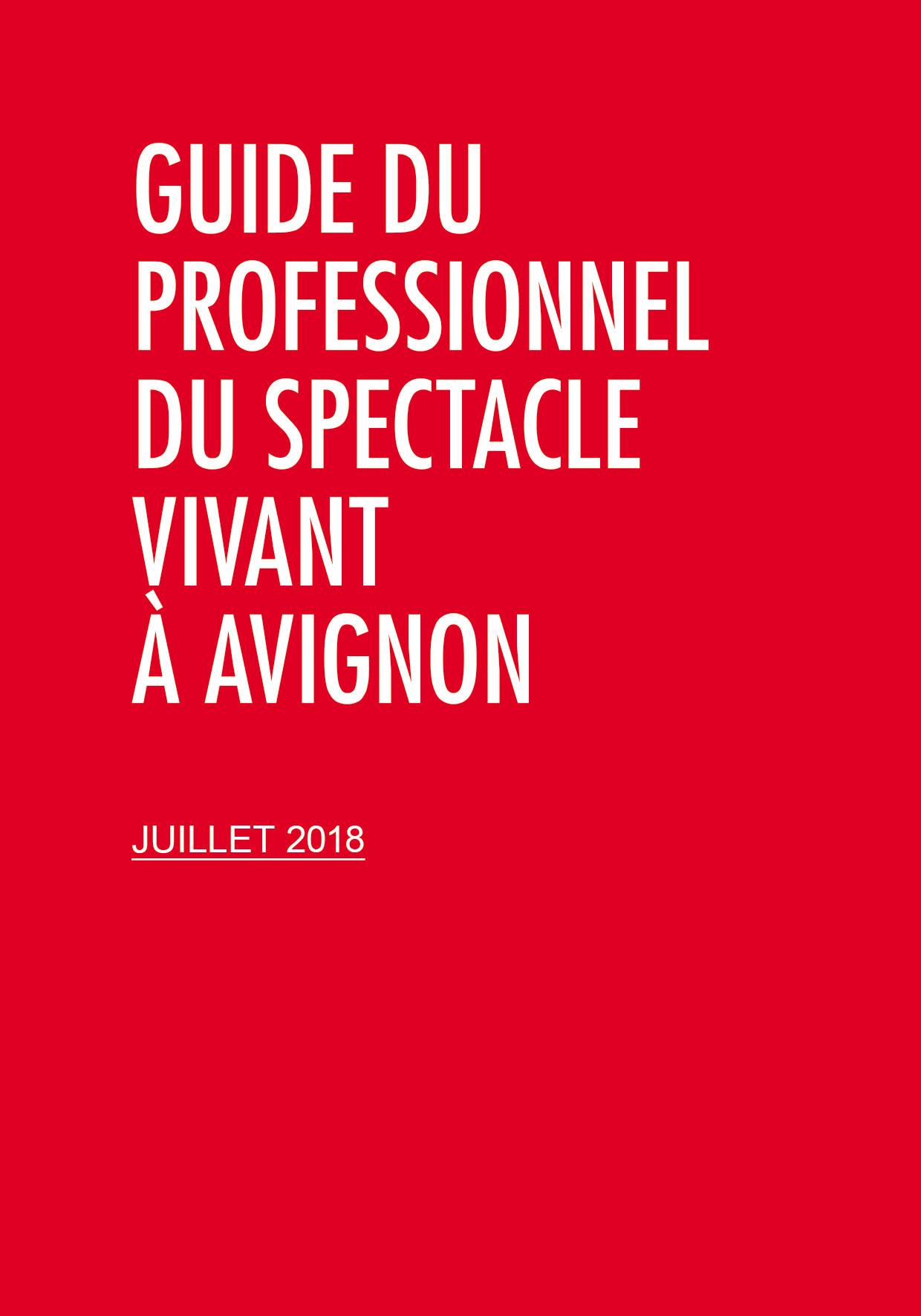 Guide du Professionnel du Spectacle vivant